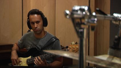 Bassist Rolando Alvarado
