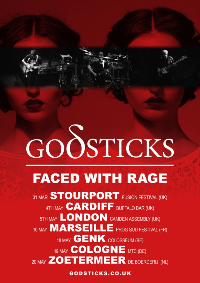 Godsticks 2018 Tour Poster