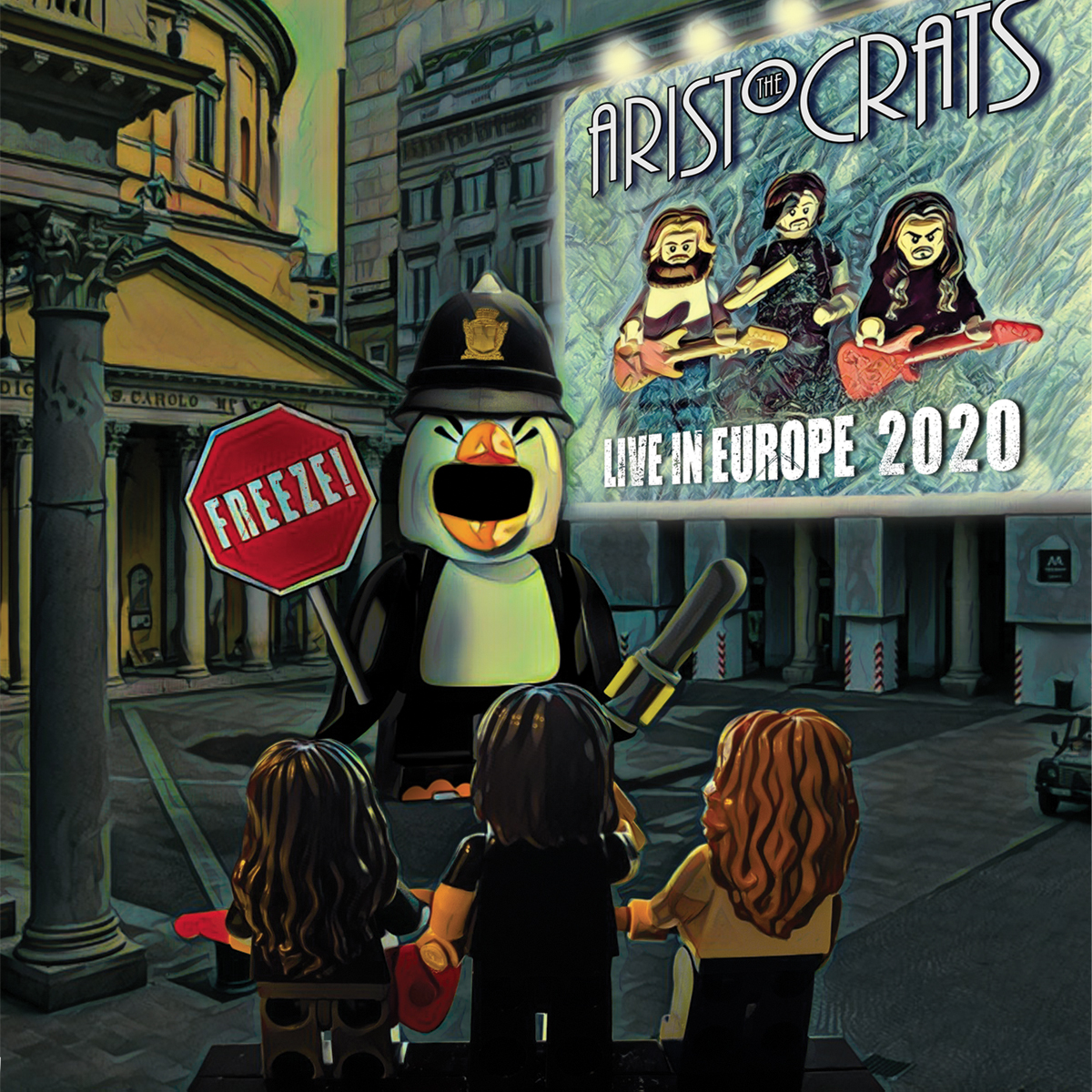 The Aristocrats announce new live album 'FREEZE! Live in Europe 2020' to be  released on May 7th | Progressive Music Planet